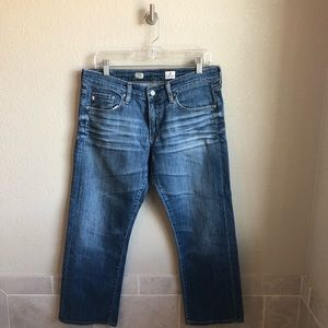 AG Tomboy Relaxed Crop Jeans